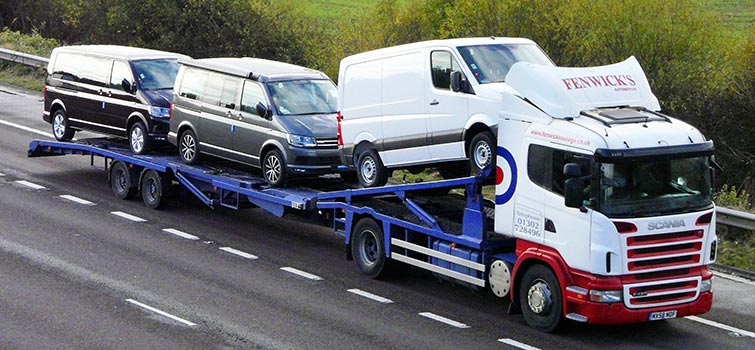 fenwick haulage car transporter